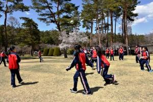 富士吉田キャンパスでオリエンテーションを行いました(中学1年 ...